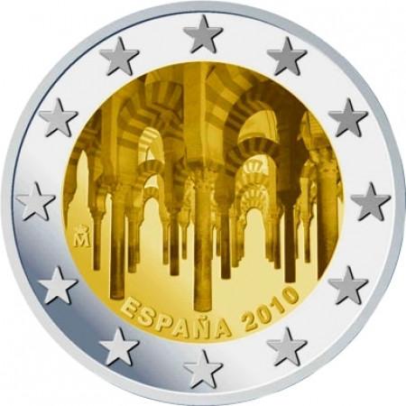 2010 * 2 euro ESPAGNE Centre historique de Cordoue