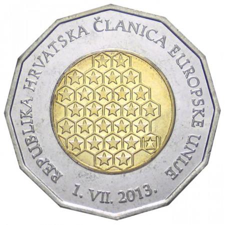 2013 * 25 kuna Croatie adhésion à l'Union européenne