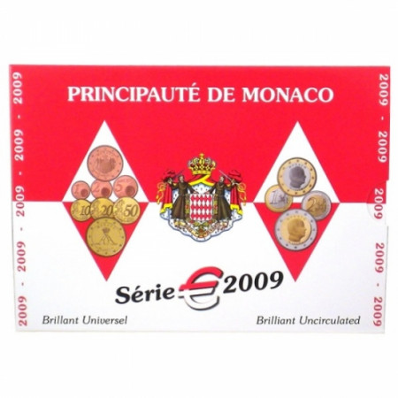 2009 * Coffret MONACO Officiel BU FDC