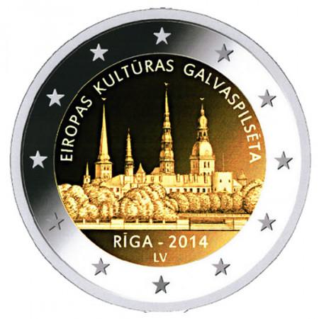 2014 * 2 euro Lettonie Riga