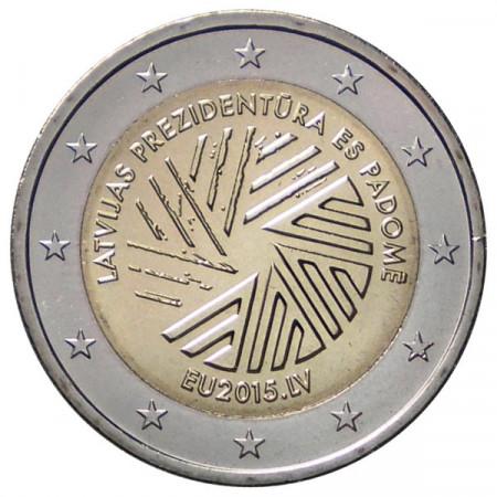 2015 * 2 euro Lettonie Présidence Conseil Européenne