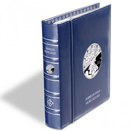 Album numismatique VISTA pour les American Eagle silver dollars * LEUCHTTURM