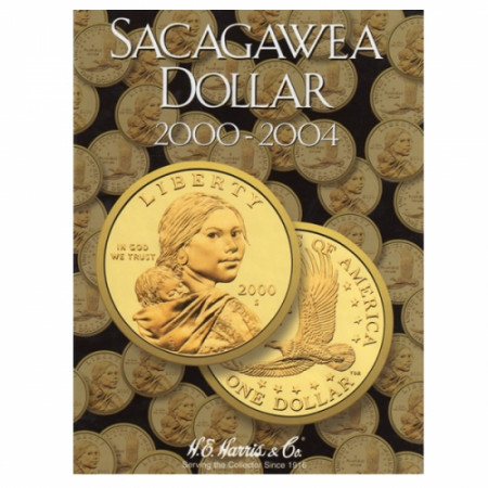 Whitman Folder Sacagawea Dollars P,D Tome I
