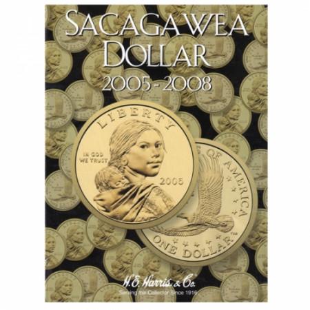 Whitman Folder Sacagawea Dollars P,D Tome II