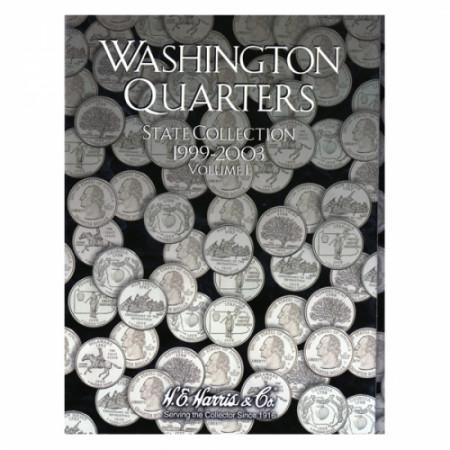 Whitman Folder Quarts de dollar 50 États tome I