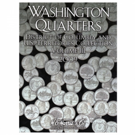 Whitman Folder Quarts Territoires tome III