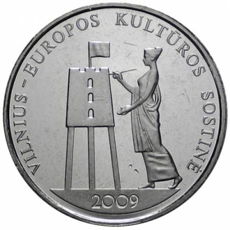 2009 * 1 Litas Lituanie VILNIUS Capitale européenne de la Culture