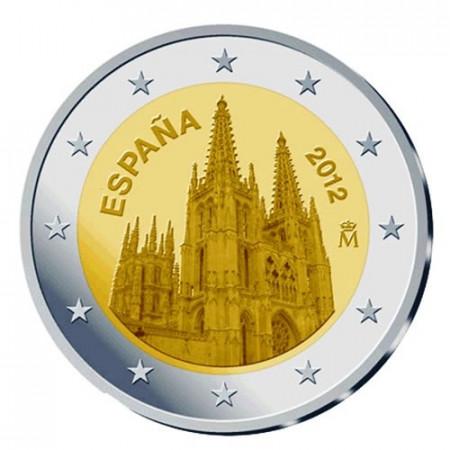 2012 * 2 euro ESPAGNE Cathédrale de Burgos
