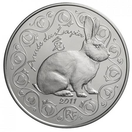 2011 * 5 euro FRANCE Année du Lapin