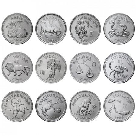 2006 * Set complet 10 Shilling Somaliland signes du zodiaque