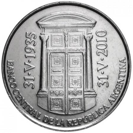 2010 * 2 Pesos Argentine Banque Centrale