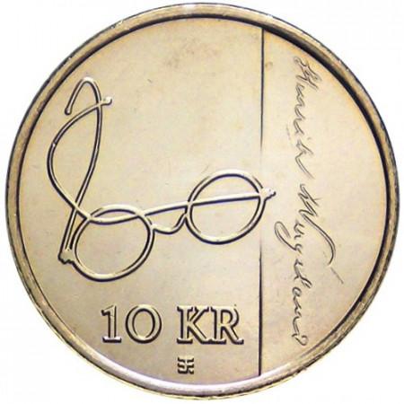 2008 * 10 couronnes Norvège Henrik Wergeland
