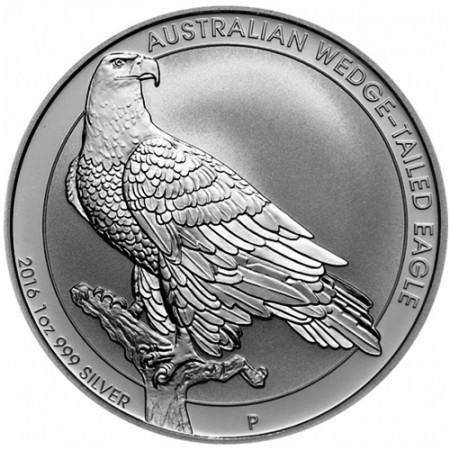 "2016 * 1 Dollar Argent 1 OZ Australie ""Aigle Uraète"" BU"