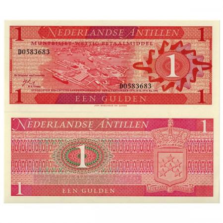 1970 * Billet Antilles Néerlandaises 1 Gulden (p20a) NEUF