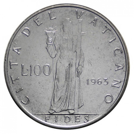 "1963 * 100 Lire Vatican Paul VI ""Fides"" FDC"