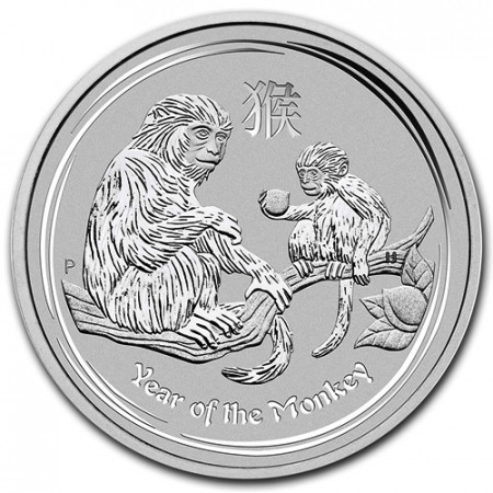 """2016 * 1 Dollar Argent 1 OZ Australie """"An de la Singe"""""""