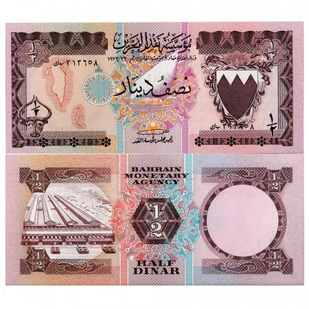 L. 1973 * Billet  Bahreïn 1/2 Dinar (p7) NEUF