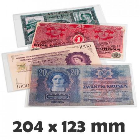 Pochettes de Protection BASIC 210 pour Billets (210 x 127 mm) * LEUCHTTURM
