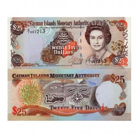 1998 * Billet Caïmans 25 dollars NEUF