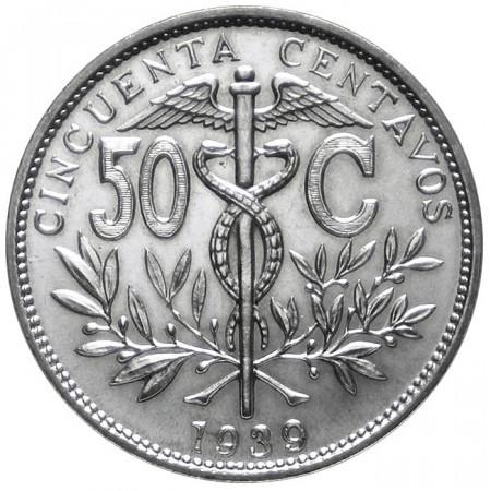 1939 * 50 centavos Bolivie