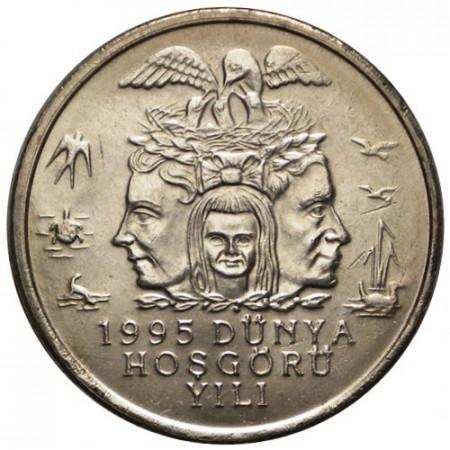 "1995 * 25 Bin Lira  Turquie ""Protection Environnementale"" (KM 1043) UNC"