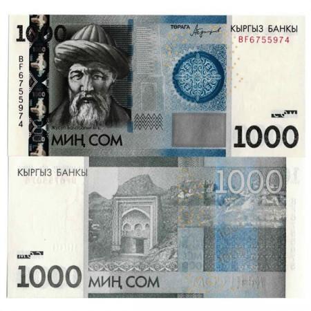 "2016 * Billet Kirghizistan 1000 Som ""Zhusup Balasagyn"" (p29b) NEUF"