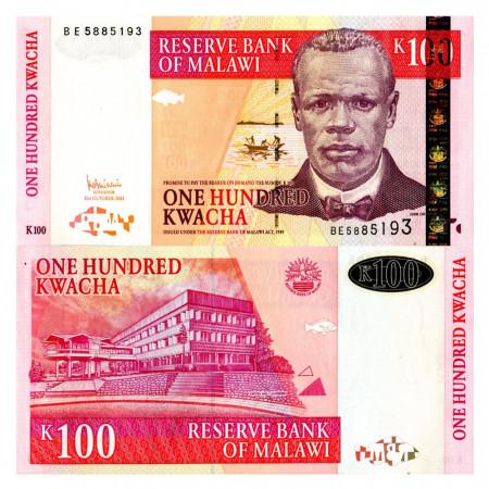 """2005 * Billet Malawi 100 Kwacha """"J Chilembwe"""" (p54a) NEUF"""