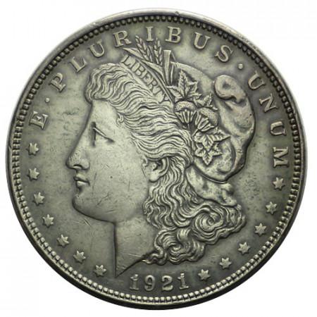 """1921 (P) * 1 Dollar Argent États-Unis """"Morgan"""" Philadelphie (KM 110) TTB"""