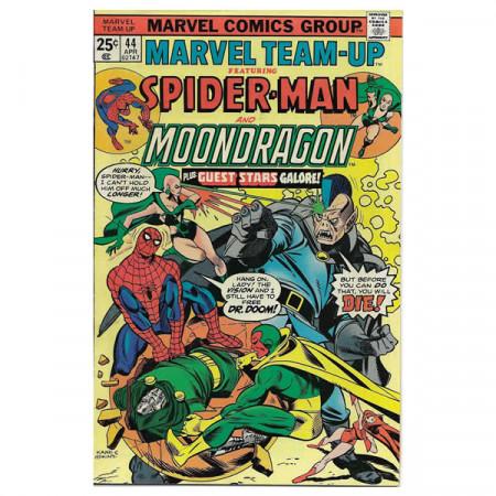 """Bandes Dessinées Marvel #44 04/1976 """"Marvel Team-Up ft Spiderman - Moondragon"""""""