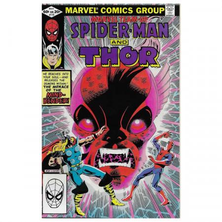"""Bandes Dessinées Marvel #115 03/1982 """"Marvel Team-Up Spiderman - Thor"""""""