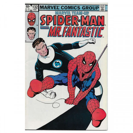 "Bandes Dessinées Marvel #132 08/1983 ""Marvel Team-Up Spiderman - Mr. Fantastic"""