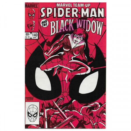 "Bandes Dessinées Marvel #140 04/1984 ""Marvel Team-Up Spiderman - Black Widow"""