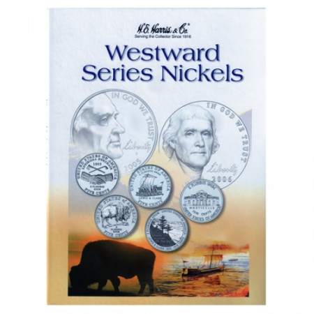 Whitman Folder Nickels - Jef. Westward