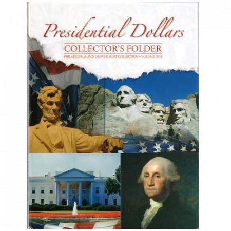 Whitman Folder Dollars Présidents P,D Tome I