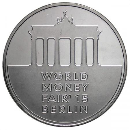 2015 * 1 Jeton Lituanie World Money Fair Berlin