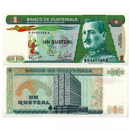 1989 * Billet Guatemala 1 Quetzal (p66) NEUF