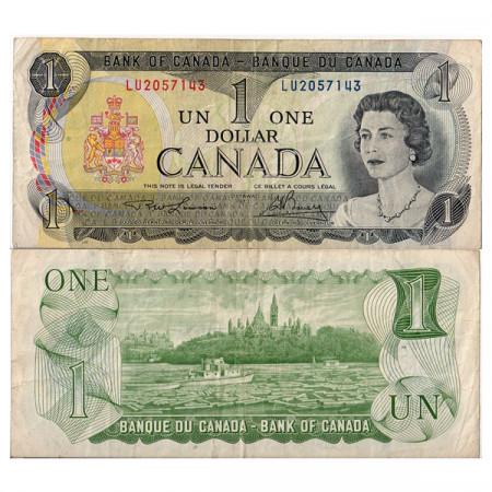 "1973 * Billet Canada 1 Dollar ""Élisabeth II"" (p85a) TTB"