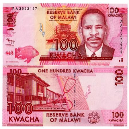 2012 * Billet Malawi 100 Kwacha (p59) NEUF