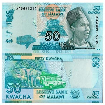 2012 * Billet Malawi 50 Kwacha (p58) NEUF