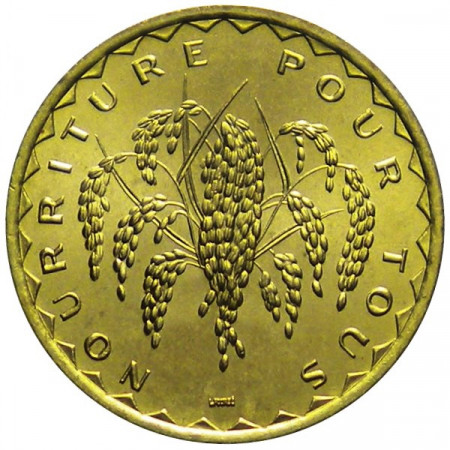 "1975 * 50 Francs Mali ""Série F.A.O."""