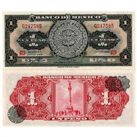 1957-70 * Billet Mexique 1 Peso (p59) NEUF