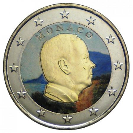 "2016 * 2 Euro MONACO ""Albert II"" Coloré"