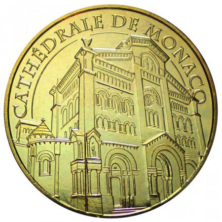 ND * Medaille touristique cathèdrale de Monaco