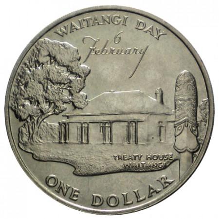 "1977 * 1 Dollar Nouvelle-Zélande ""25th Anniversary - Waitangi Day"" (KM 46) FDC"