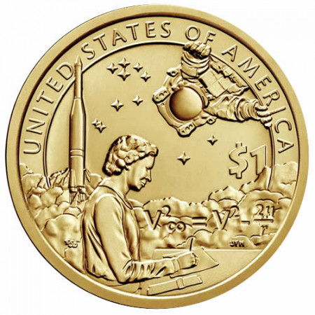 "2019 * 1 Dollar États-Unis ""U.S. Space"" UNC"