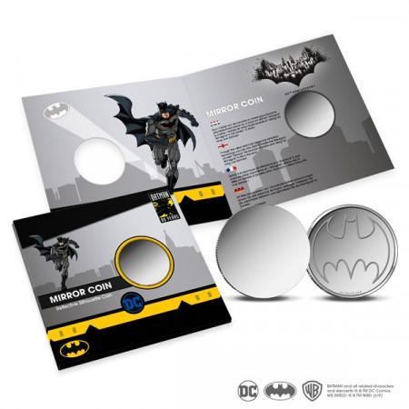 """ND (2019) * Monnaie Miroir PAYS-BAS """"80ème Anniversaire de Batman"""" FDC"""