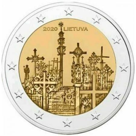 "2020 * 2 Euro LITUANIE ""La Colline des Croix"" UNC"