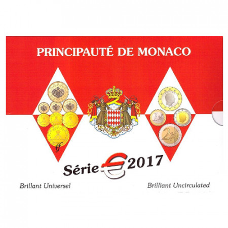 2017 * MONACO Coffret Officiel BU