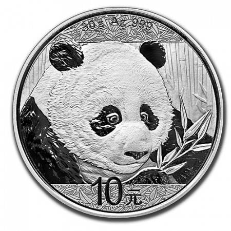 "2018 * 10 Yuan Argent (30gr) Chine ""Panda"" FDC"