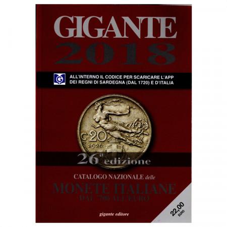 Catalogue Monnaies Italienne 2018 * GIGANTE